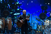 REGINA, SK - MAY 17: Don Henley of the Eagles performs during the opening ceremonies of the 2018 MasterCard Memorial Cup at Mosaic Stadium on May 17, 2018 in Regina, Canada. (Photo by Marissa Baecker/Shoot the Breeze)