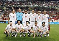 Fotball<br /> Polen<br /> Foto: Gepa/Digitalsport<br /> NORWAY ONLY<br /> <br /> 08.09.2007<br /> Michal Zewlakow, Dariusz Dudka, Jacek Krzynowek, Artur Boruc, Marcin Wasilewski, Grzegorz Bronowicki, Mariusz Jop, Jakub B aszczykowski, Mariusz Lewandowski, Euzebiusz Smolarek und Maciej  urawski (POL)<br /> Lagbilde Polen