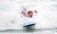 15 June 2013; Rory Best, British & Irish Lions, during a surfing lesson on Bondi Beach. British & Irish Lions Tour 2013, Surfing at Bondi Beach, Bondi Beach, Sydney, NSW, Australia. Picture credit: Stephen McCarthy / SPORTSFILE
