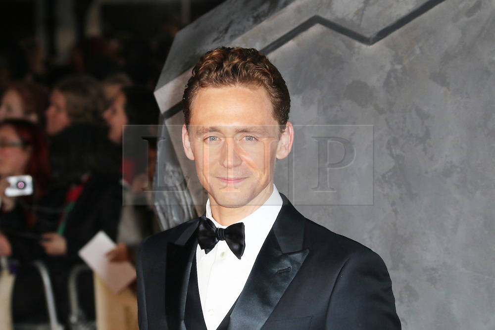 Tom Hiddleston, Thor: The Dark World - World film premiere, Odeon Leicester Square, London UK, 22 October 2013, Photo by Richard Goldschmidt) © Licensed to London News Pictures. Photo credit : PiQtured/LNP