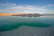 Dead sea, Israel at dusk
