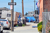 Looking toward Soledad St. on Market Way in the Chinatown area of Salinas on March 8, 2016.