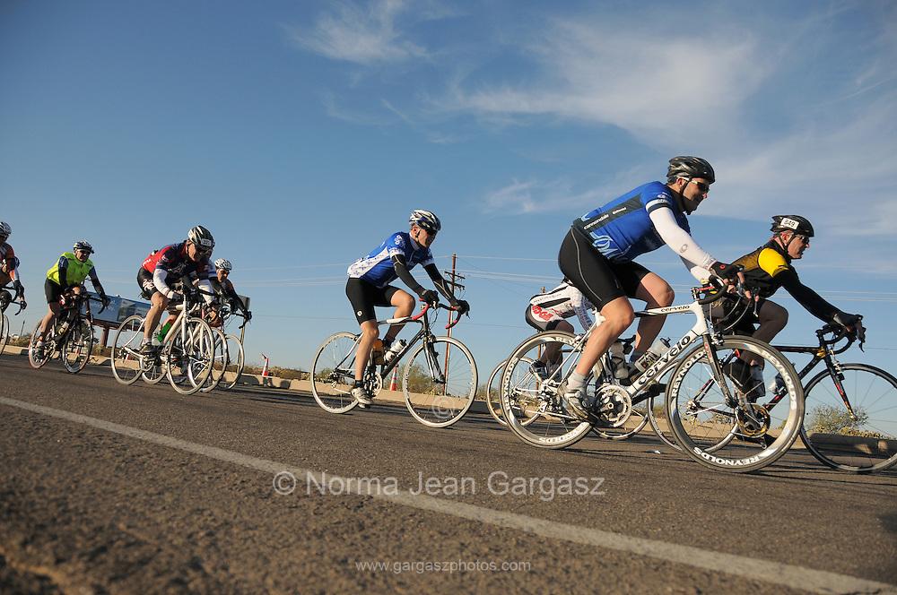 El Tour de Tucson, Tucson, Arizona, USA.