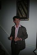 Manfredi della Gherardesca. Adam Ball ' All that Glitters' private view hosted by Manfredi della Gherardesca and Patrizia Papachristidis .  Charles St. London. 19 June 2005. ONE TIME USE ONLY - DO NOT ARCHIVE  © Copyright Photograph by Dafydd Jones 66 Stockwell Park Rd. London SW9 0DA Tel 020 7733 0108 www.dafjones.com