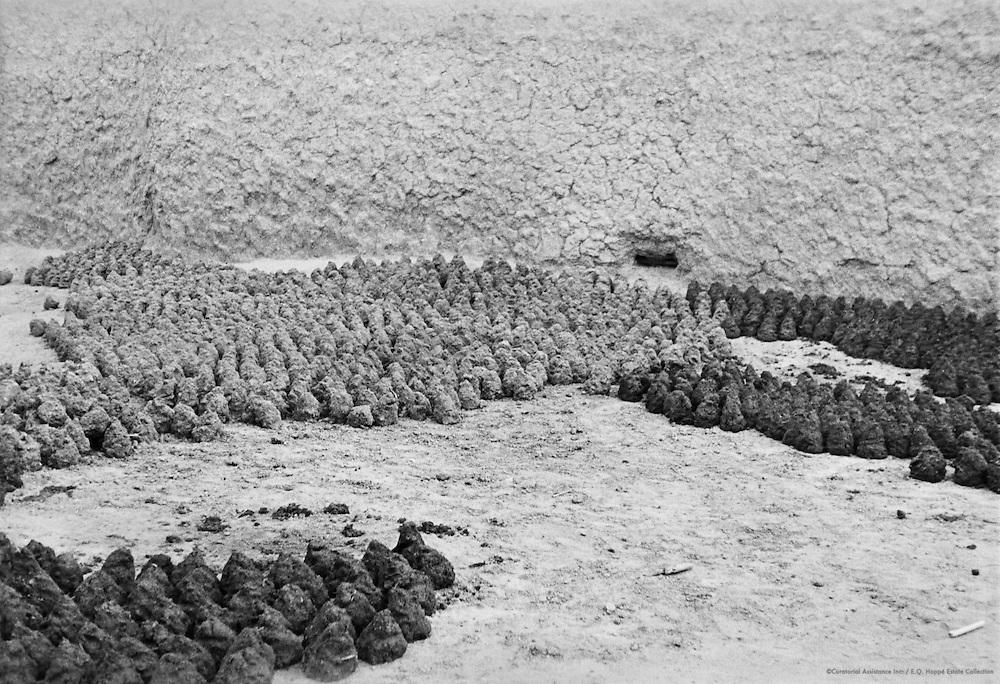 Mud Heaps for Building Purposes, Municipal Water Supply, Kano, Nigeria, Africa, 1937