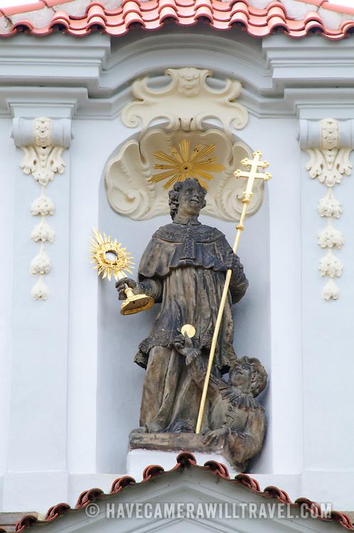 Statue at the Strahov Monastery