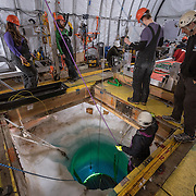 The robot trails a fiber optic cable so that manual control of the sub can be used in case of failure.