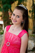 Bat Mitzvah girl, Modiin, Israel. Portrait Photography by Debbie Zimelman