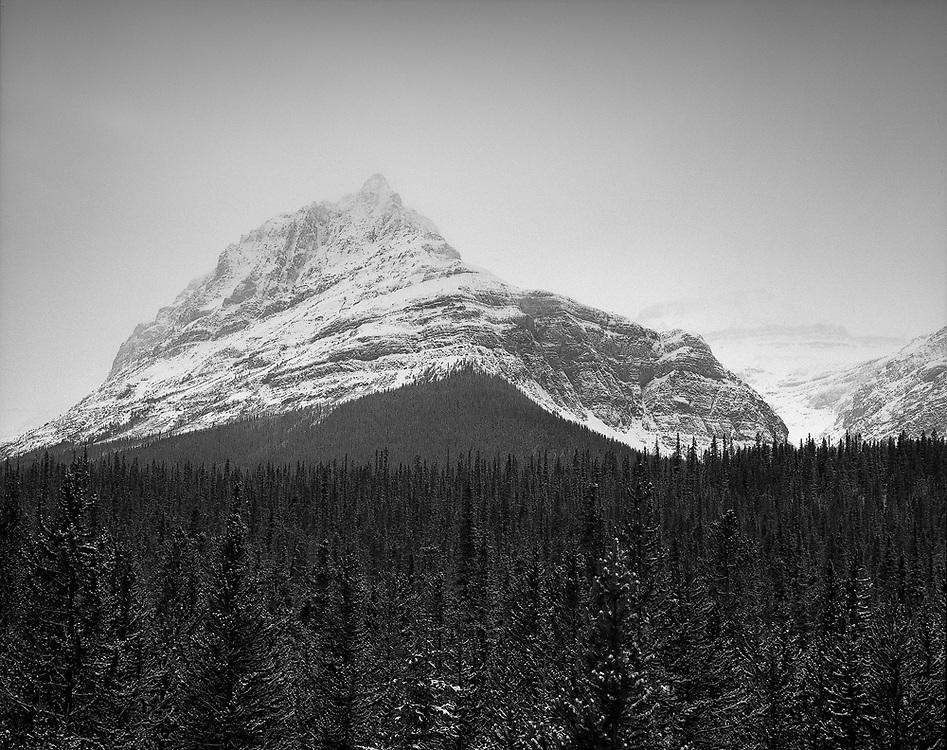 Caldron Peak on a foggy morning