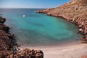 View of El Embudo (The Funnel) on Isla Partida, La Paz, BCS, Mexico