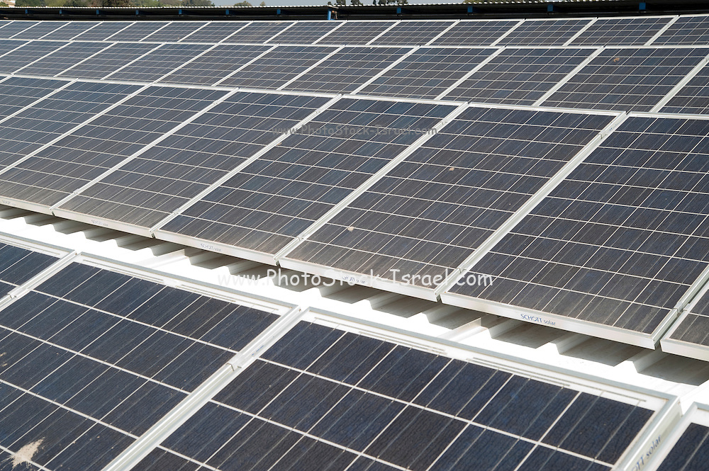 Electricity converting solar panels on a roof With the reduction on cost of ownership of these panels, combined with the rise in the cost of electricity have created a positive return on investment on solar electricity. The surplus electricity is sold to the electric company for distribution