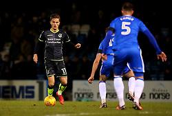 Tom Nichols of Bristol Rovers - Mandatory by-line: Robbie Stephenson/JMP - 16/12/2017 - FOOTBALL - MEMS Priestfield Stadium - Gillingham, England - Gillingham v Bristol Rovers - Sky Bet League One