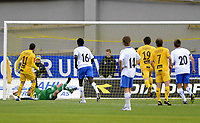 Fotball , 28. April 2010<br /> Adeccoligaen<br /> Bodø/Glimt - Nybergsund<br /> Mounir Hamoud scorer på straffe , Bodø/Glimt<br /> Foto: Tor-Erik Eidissen , Digitalsport