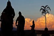 Congonhas_MG, 02 de Maio de 201...Basílica do Senhor Bom Jesus de Congonhas do Campo...FOTO: JOAO MARCOS ROSA / NITRO