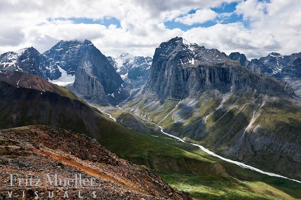 Mount MacDonald Range near the Snake River, Yukon