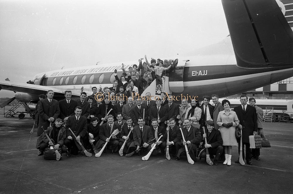 16/03/1968<br /> 03/16/1968<br /> 16 March 1968<br /> Hurling team flies out for St. Patrick's Day game:<br /> On March 16th, 1968 the hurling team of Antigen Ltd., Nenagh, co. Tipperary (with their Supporters) flew out from Dublin Airport by charter Aer Lingus plane to Liverpool. There, they would play St. Patrick's hurling club team on St. Patrick's Day.