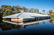 Flooded home in Socastee, South Carolina following Hurricane Florence.