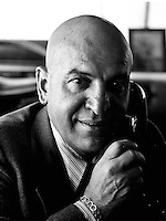 American actor Telly Savalas. photographed by Terry Fincher