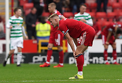 Aberdeen's Ross McCrorie after the cinch Premiership match at Pittodrie Stadium, Aberdeen. Picture date: Sunday October 3, 2021.