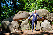 King Willem-Alexander visits Borger, 24-06-2020