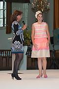 Koningin Maxima is aanwezig bij de uitreiking van de Familiebedrijven Award. Deze prijs wordt jaarlijks door de Stichting Familie Onderneming uitgereikt aan het beste familiebedrijf in Nederland. <br /> <br /> Queen Maxima was present at the presentation of the Family Business Award. This prize is awarded annually by the Foundation for Family Enterprise at the best family business in the Netherlands.<br /> <br /> Op de foto / On the photo:  Koningin Maxima en Astrid Joosten/ Queen Maxima