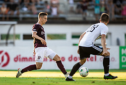 Tilen Mlakar of Triglav during football match between NK Triglav and NS Mura in 5th Round of Prva liga Telekom Slovenije 2019/20, on August 10, 2019 in Sports park, Kranj, Slovenia. Photo by Vid Ponikvar / Sportida