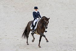 Tanya Seymour, (RSA), Ramoneur 6 - Grand Prix Team Competition Dressage - Alltech FEI World Equestrian Games™ 2014 - Normandy, France.<br /> © Hippo Foto Team - Leanjo de Koster<br /> 25/06/14