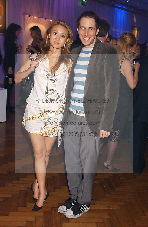 BRUCE WILPON and his wife YUKI OSHIMA-WILPON , he is the son of Fred Wilpon, the New York multimillionaire real-estate developer who the New York Mets baseball team at a party to celebrate the centenary of Montblanc held at Lindley Hall, Elverton Street, London SW1 on 9th March 2006.<br /><br />NON EXCLUSIVE - WORLD RIGHTS