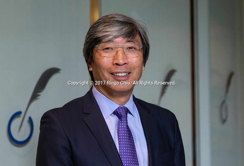Dr. Patrick Soon-Shiong at the Nant headquarters. (Photo by Ringo Chiu/PHOTOFORMULA.com)<br /> <br /> Usage Notes: This content is intended for editorial use only. For other uses, additional clearances may be required.