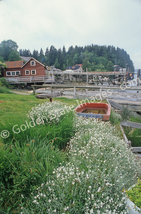 Bamfield is a small fishing town on the exposed west side of Vancouver Island.