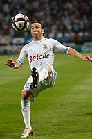 FOOTBALL - FRENCH CHAMPIONSHIP 2011/2012 - L1 - OLYMPIQUE DE MARSEILLE v AS SAINT ETIENNE - 21/08/2011 - PHOTO PHILIPPE LAURENSON / DPPI - MATHIEU VALBUENA (OM)