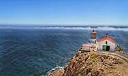 USA, California, Marin County. The lighthouse at Point Reyes National Seashore.<br /> <br /> Buy a print of this photo!