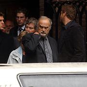 NLD/Laren/2005005 - Begrafenis Roy Beltman, Bert Ruiter, partner Jerney Kaagman