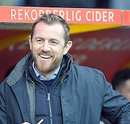 Gary Rowett manager of Birmingham City during the Sky Bet Championship match at the John Smiths Stadium, Huddersfield<br /> Picture by Graham Crowther/Focus Images Ltd +44 7763 140036<br /> 20/12/2014