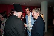 BOY GEORGE; MARK RONSON; NICK RHODES, Prima Donna opening night. Sadler's Wells Theatre, Rosebery Avenue, London EC1, Premiere of Rufus Wainwright's opera. 13 April 2010