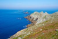 France, Finistère (29), Mer d'Iroise, la Pointe du Raz // France, Briitany, Finistere, Iroise sea, the Pointe du Raz