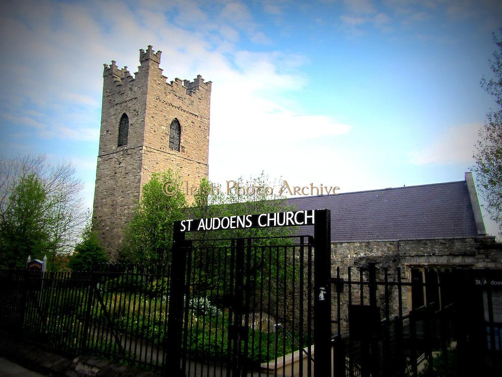 Saint Audeon's Church, High Street, Dublin, c.1190
