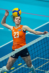 Eline Timmerman of Netherlands in action during the Women's friendly match between Belgium and Netherlands at Topsporthal Beveren on may 09, 2021 in Beveren, Belgium (Photo by RHF Agency/Ronald Hoogendoorn)