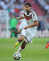 Fotball<br /> Tyskland v Armenia<br /> 06.06.2014<br /> Foto: Witters/Digitalsport<br /> NORWAY ONLY<br /> <br /> Sami Khedira (Deutschland)<br /> Fussball, Testspiel, Deutschland - Armenien 6:1