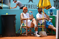 May 6, 2019 - Madrid, SPAIN - Rafael Nadal (Esp) and Carlos Moya (Credit Image: © Panoramic via ZUMA Press)