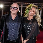 NLD/Amsterdam/20171012 - Televizier-ring Gala 2017, Rene van der Gijp en partner Minouche de Jong