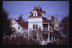 Victorian Residence, Port Townsend, Olympic Peninsula, Washington, US