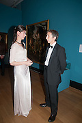 KATHERINE ARA; ANTHONY CRICHTON-STUART; , Mark Weiss dinner, Nationaal Portrait Gallery. London. 15 October 2012.
