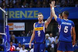 IVAN ZAYTSEV E OSMANY JUANTORENA<br /> <br /> Italy vs Slovenia<br /> Volleyball men's world championship <br /> Florence September 18, 2018