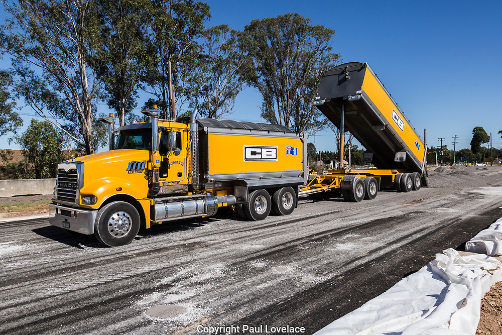 Bringelly Road upgrade and launch of SPECTS to raise standards and productivity of heavy vehicles.