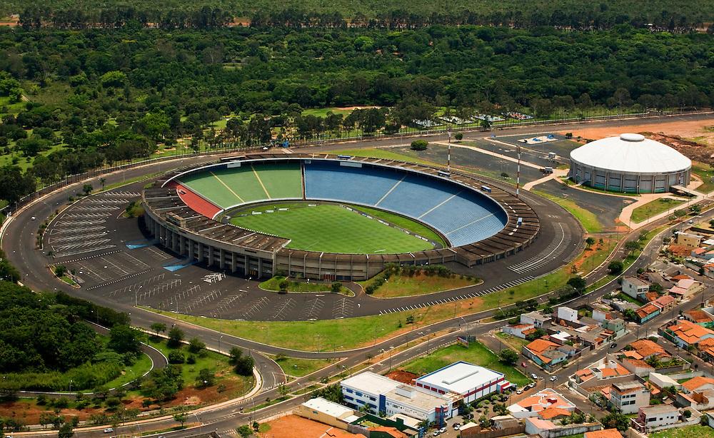 Uberlandia_MG, Brasil...Vista aerea do estadio Joao Avelange em Uberlandia...The aerial view of Joao Avelange stadium in Uberlandia...Foto: BRUNO MAGALHAES / NITRO