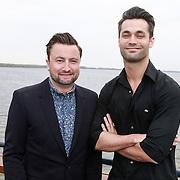 NLD/Naarden/20130502- Presentatie RTL Killer Karaoke, presentatoren Dennis Weening en Jan Kooijman