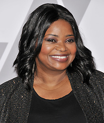 Octavia Spencer arrives at the 90th Annual Academy Awards Nominee Luncheon held at the Beverly Hilton in Beverly Hills, CA on Monday, February 5, 2018. (Photo By Sthanlee B. Mirador/Sipa USA)