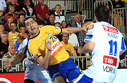 Aleksandar Stojanovic at E group of EHF Champions League Men 2008/2009 between RK Cimos Koper (SLO) and Portland San Antonio (ESP), on October 18, 2008,  in Bonifika Hall, Koper, Slovenia. (Photo by Vid Ponikvar / Sportida)