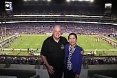 September 19, 2021 - MD: Governor Larry Hogan Attends Ravens Game At M&T Bank Stadium